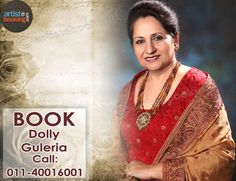 Book Dolly Guleria From Artistebooking.com. #artistebooking #DollyGuleria #Singer. For More Details Visite : artistebooking.com Or Call : 011-40016001
