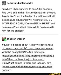 """[Will Not Be Repeated]=> This kind of object For Survival Gear Backpacks will . - This kind of object For Survival Gear Backpacks will …""""> [Will Not Be Repeated]=> This kind - Avatar Funny, Avatar Aang, Atla Memes, Avatar The Last Airbender Art, Sneak Attack, Avatar Series, Team Avatar, Fire Nation, Air Bender"""