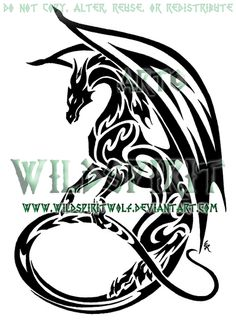Google Image Result for http://fc00.deviantart.net/fs70/i/2011/014/c/2/maned_dragon_tribal_tattoo_by_wildspiritwolf-d1c015s.png