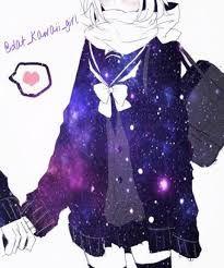 Kết quả hình ảnh cho anime galaxy