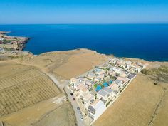 Panormos apartment rental - Panoramic aspect of the complex and the surrounding area!