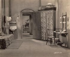 Vintage Theatre Dressing Room