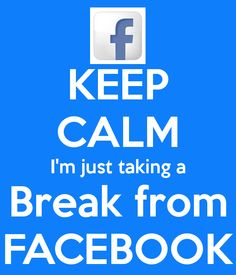 Fact not Fiction Social Media Poster, Social Media Break, Social Media Detox, Social Media Quotes, Facebook Drama, Facebook Quotes, Facebook Humor, Facebook Poster, Needing A Break Quotes