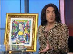 Kiss Guitarist Paul Stanley's Paintings