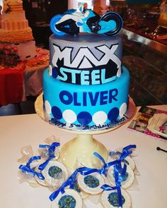 Max steel themed birthday www.facebook.com/carinaedolce #carinaedolce www.carinaedolce.com