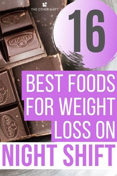 16 Best Foods for Weight Loss on Night Shift. Are you trying to lose weight during the night shift, Weight Loss Meals, Best Weight Loss Foods, Weight Loss Challenge, Weight Loss Tips, Foods To Lose Weight, Working Night Shift, Night Shift Nurse, Shift Work, Night Shift Problems