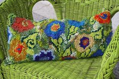 """Spring Flowers Pillow Top Kit 21 by 9"""""""