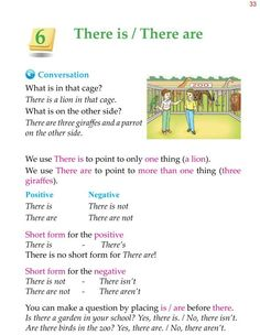 Grade Grammar There Is There Are English Grammar For Kids, Teaching English Grammar, English Grammar Worksheets, English Lessons For Kids, English Writing Skills, English Reading, English Language Learners, English Vocabulary Words, English Phrases