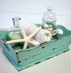 The Speckled Dog: Sea Glass  Martha Stewart paint color