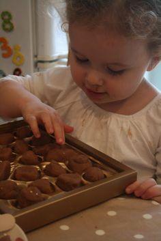 Chocolate Play Dough!