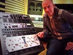 #SPL #Passeq @ Damp Studio in Neuchatel, Switzerland with producer Pascal Brunko.
