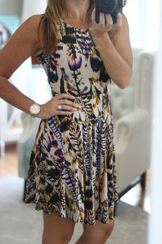 My Birthday Fix!  Stitch Fix Reveal July 2016 Collective Concepts Rodax Jersey Dress