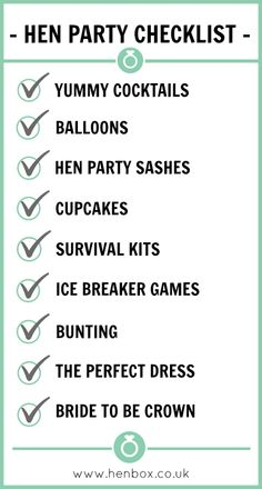 There are plenty of fun bachelorette party ideas that you can implement into your bash. Let the bride get wild one last time before her big day. Hen Night Ideas, Hens Night, Hen Ideas, Party Prizes, Bachelorette Party Planning, Hen Party Games, Party Checklist, House Party, Wedding Ideas