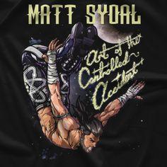 Matt Sydal Shooting Star T-shirt
