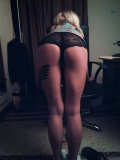 A sexy tattoo on a...f**in sexy ass