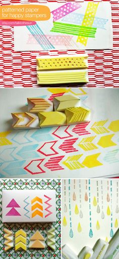 These hand-carved designs by Talk to the Sun would create fantastic gift wrapping (inspiration)
