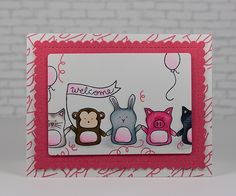 Darling card by Mary Dawn Quirindongo using brand New Simon Says Stamp Exclusives.