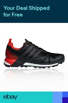 10d6a4d8ee8 adidas Mens Terrex Agravic GORE-TEX Trail Running Shoes Trainers Sneakers  Black