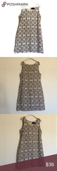 "Cynthia Rowley pattern printed linen sheath dress Beautiful dress, fully lined with exposed zip back. Excellent condition. Pit to pit 19"", length 37"". 100% linen. Cynthia Rowley Dresses"