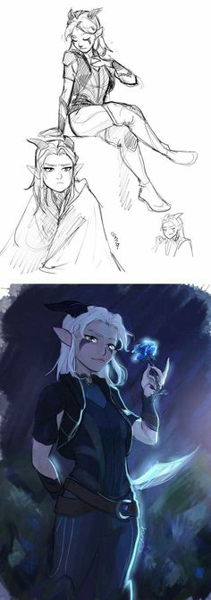 The Dragon Prince, created by Aaron Ehasz (Avatar: The Last Airbender) and Justin Richmond, tells the story of two human princes who forge an. Rayla Dragon Prince, Rayla X Callum, Prince Drawing, Character Art, Character Design, Anime Prince, Dreamworks, Dragon Princess, Avatar The Last Airbender