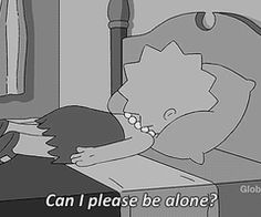 Shared by The Simpsons. Find images and videos about black and white, quotes and sad on We Heart It - the app to get lost in what you love. The Simpsons, Simpsons Quotes, Simpson Tumblr, All The Bright Places, Can I Please, Sad Wallpaper, Bd Comics, Pep Talks, My Mood