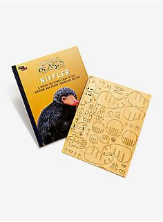 "Learn all about the Niffler and other creatures and characters from the <i>Fantastic Beasts and Where to Find Them</i> film in this exciting customizable book and model set. This book and wood model set bring the world of the film to life. Filled with incredible illustrations and unit photography, the guidebook provides fascinating behind-the-scenes facts about the creatures and the film itself and includes a do-it-yourself 3D wood model of the Niffler. <div><ul><li style=""list-sty..."