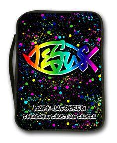 """Rainbow"" Bible Cover"