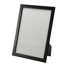 "FISKBO Frame, black - black - 8 ½x11 "" - IKEA ___bedroom"