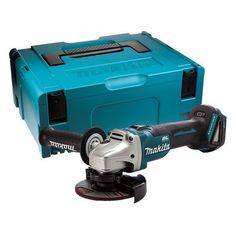 MAKITA DGA454ZJ 18V BRUSHLESS ANGLE GRINDER (BODY ONLY) SUPPLIED IN MAKPAC CASE