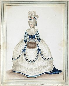 Dress of the Year 1781, by Ann Frankland Lewis