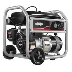 3,500 Watt Portable Generator with Recoil Start and Wheel Kit