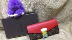 9ad8e87951f62 Carteira Louis Vuitton Pallas Monogram Vermelha Premium Acesse   www.replicasdebolsa.com.br