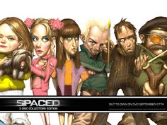 BBC Spaced (love this show)