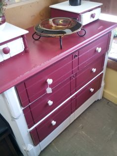 This dresser is  bold beautiful. $125.00