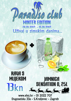 Uživaj u zimskoj ponudi Paradiso Cluba