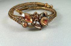 Antique Bronze Viking Knit Bangle Bracelet by Suzjewelry on Etsy
