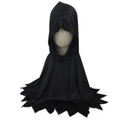 Children Gothic Hooded Clothing Boy Halloween Costumes Devil Ghost Masquerade Party