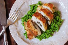 Comforting and indulgent Healthy Chicken Kiev! Gluten Free & Dairy Free. Recipe on www.thelittlegreenspoon.com