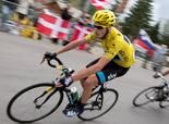 L'ALPE D'HUEZ, France -- Since the eighth stage of the Tour de France, Britain's Chris Froome has defended the race lead from a cadre of the world's top cyclists, including two-time champion Alberto Contador of Spain. But Froome has faced the fiercest attacks while off the bicycle.