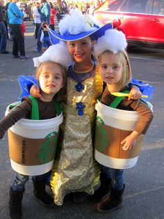 Starbucks costumes!!