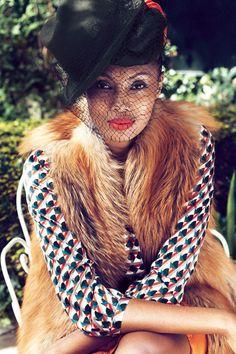 Imany, rhythm'n'chic. La chanteuse soul nous livre sa philosophie du style
