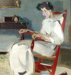 Helene Schjerfbeck - Crotos Helene Schjerfbeck, Woman Painting, Figure Painting, Abstract Images, Abstract Art, Paintings I Love, Oil Paintings, True Art, Gravure