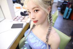 Twice-Dahyun MCount Down Back Stage Photo By Jeongyeon Taehyung, Twice Korean, Twice Once, Twice Dahyun, Cosmic Girls, Gal Pal, Feeling Special, Girl Day, Dance The Night Away