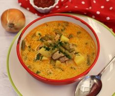 Lidl, Thai Red Curry, Soup, Ethnic Recipes, Soups