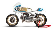 The Pantah set the template for modern Ducatis, with a trellis frame, belt-driven cams and a desmo valve system. This cafe racer lifts the bar even higher.