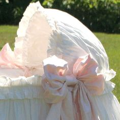 Ruffles and bows for baby #nursery
