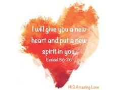 New heart and new Spirit