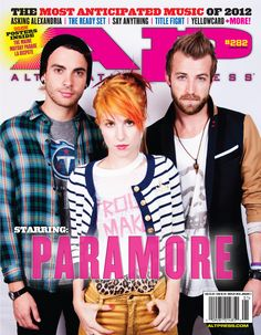 PARAMORE This year, Hayley Williams, Taylor York and Jeremy Davis traded their misery business to focus on the unfinished kind. Powered by the support of their fans—as well as each other—the trio are