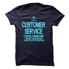 I am a Customer Service T-Shirts, Hoodies. Check Price Now ==► https://www.sunfrog.com/LifeStyle/I-am-a-Customer-Service-17541679-Guys.html?id=41382