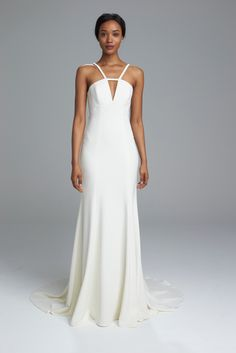 Amsale spring 2017 bridal collection: http://www.stylemepretty.com/2016/04/17/amsale-bridal-week-spring-2017/